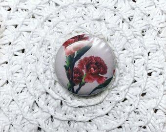 Floral Pinback Button