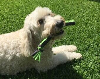 T-shirt Square Braid Dog Toy