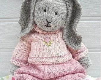 Beautiful Hand Knitted Bunny Rabbit