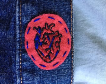 Heart on my Sleeve Patch