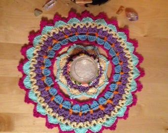 Mini Mandala Doily