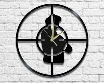 Public Enemy - Vinyl - Wall clock - Public enemy logo - rap - hip hop