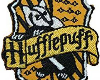 Harry Potter Hufflepuff 4 Inch Sew On or Iron On Application Applique Patch- FREE DOMESTIC SHIPPING