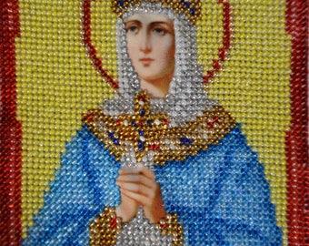 """Icon st. Olga 6""""x 5"""""""