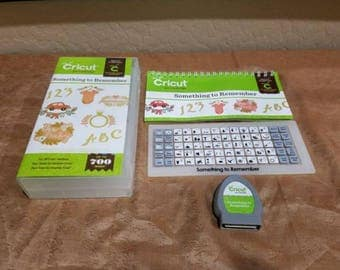 Cricut cartridge Something To Remember RARE