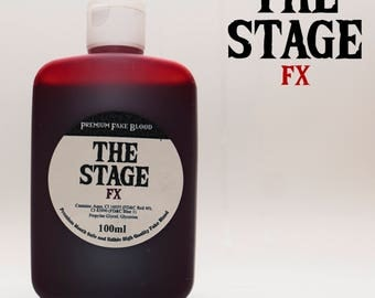THE STAGE FX  Fake Blood Makeup great for any event