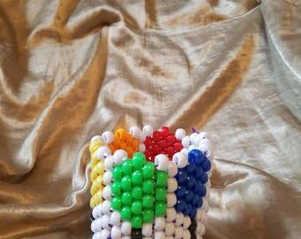 Lollipop Kandi Cuff