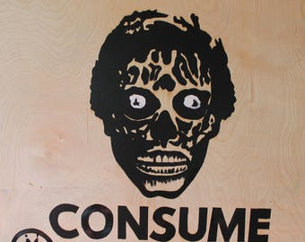 Oil Painting - Consume