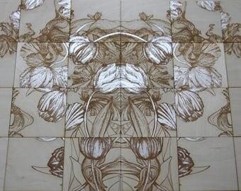 wooden tiles #2