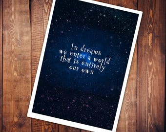 Art Print - In Dreams