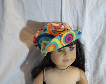 "American Doll 18"" Doll Clothes-Groovy Billed Hat"