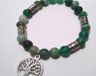 Save A Tree Beaded Bracelet