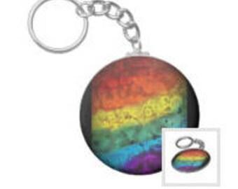 Pride Flag Keychain
