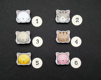 Cute Cat webcam cover (small) !Stock!