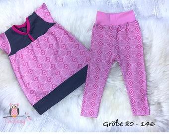 Children dress and leggings set