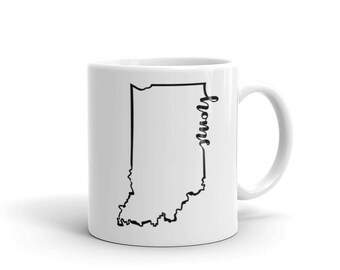 Indiana Home State - Coffee Mug