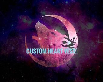 Custom Heart Vest!
