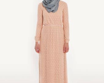 Bailey dress- Bright terracotta