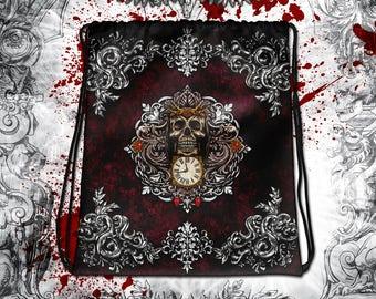 Reaper's Skull Drawstring bag