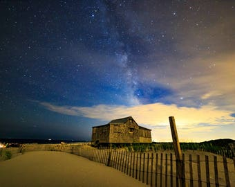 Milky Way over the Jersey Shore.