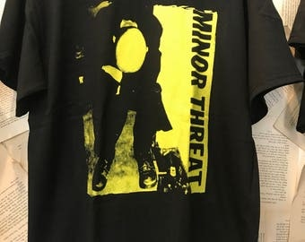 Minor threat band t shirt