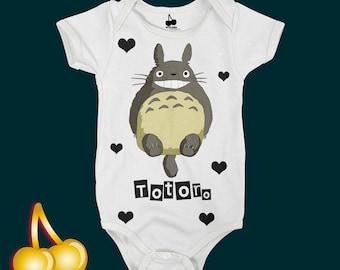 Totoro Bodysuit / Romper / Onesie / T-shirt