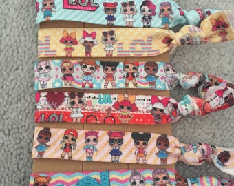 NEW LOL Surprise Doll hair ties