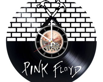 Pink Floyd  music Vinyl Record Wall Clock gift idea wall art decor