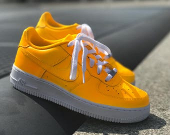 Nike Air Force 1 Sunset Yellow