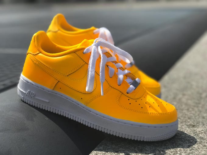 gucci air force 1. nike air force 1 sunset yellow gucci m