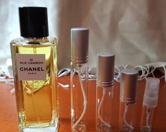 CHANEL- 31 rue Cambon EDP eau de parfum perfume sample travel size spray