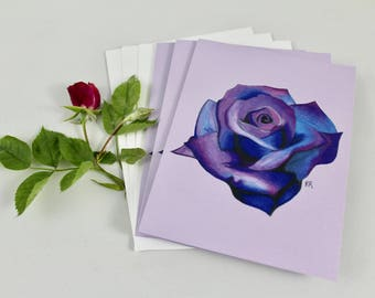 Purple Rose Gift Cards (6 pack)
