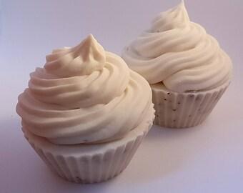 Handmade Vegan Coconut Milk Soap Cupcakes