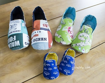 714 Mason Family Shoes Set PDF Pattern - 30% Off!