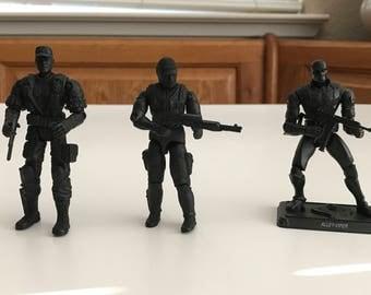 Custom GI Joe / Star Wars Shadow Figures.