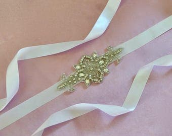 Wedding Bridal Sash, Wedding Bridal Belt, Crystal Bridal Sash, Crystal Wedding Sash, Crystal Bridal Belt, Crystal Wedding Belt