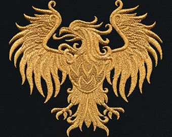 Gilded Heraldry embroiderys From Urban Threads