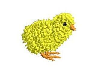 NeedleUp - Baby Chick embroidery design