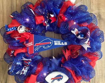 Buffalo Bills  LED Wreath