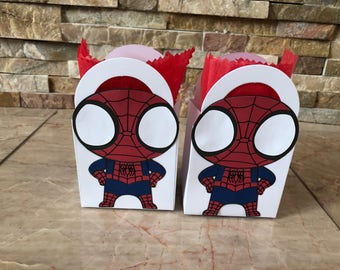Spiderman  - Small Favor Bags
