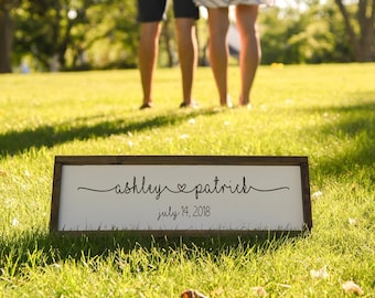 Personalized Wood Signs 7 X 20