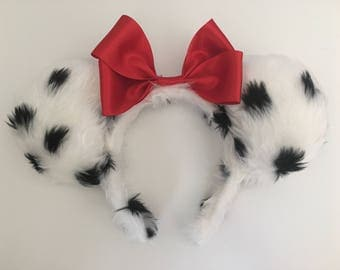 101 Dalmations inspired Mickey/Minnie/Mouse Ears