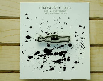 Dead character pin