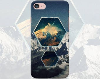 Mountains Phone case iPhone 7 7 Plus 6 6s 6 plus 5 5s 5se 4 4s Samsung galaxy case s7 edge s7 s6 s5 s4 s3 mobile cover mountain iphone case