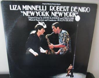 New York, New York Soundtrack - used record
