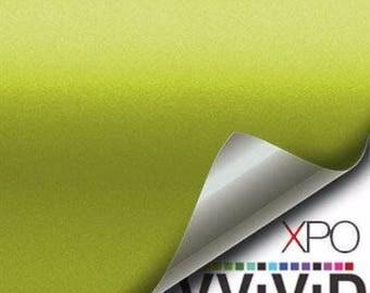 VViViD Electric Lime Matte Vinyl Decal