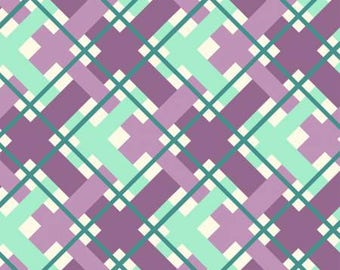 170166 Lilac Plaid, Hello Jane by Allison Harris Collection