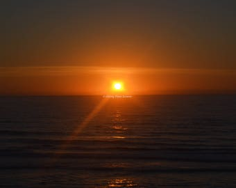 Digital Photography Sunrise at Daytona Beach Florida