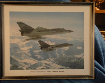 F-106 Delta Dart Intercept by Military Aviation Signed by Pilot