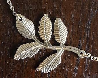 Leaf Branch Necklace